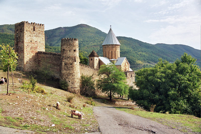 Ananuri Fortress was once a strategic stronghold along the famous Georgian Military Highway. Photo credit: Martin Klimenta