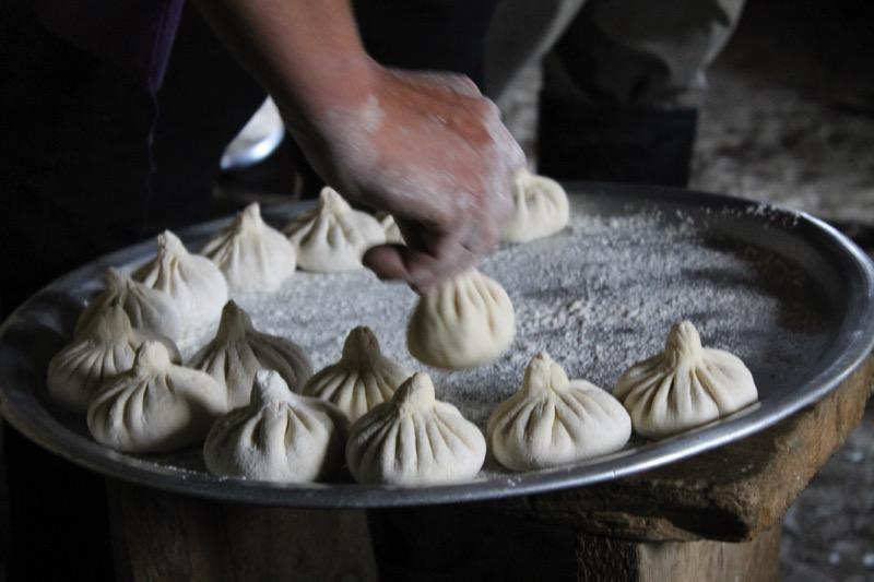 Khinkali, made in Tusheti for festivals. Photo credit: Shota Lagazidze