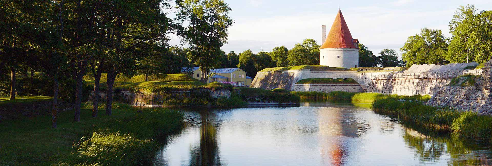 Kuressare fortress on Saaremaa island, in western Estonia. Photo credit: Martin Klimenta