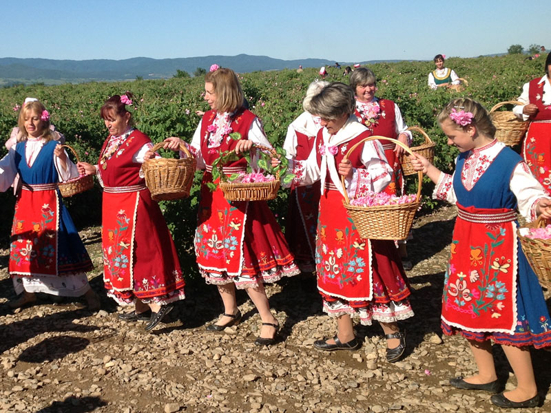 At the Rose Festival, Bulgaria. Photo Credit: Michel Behar