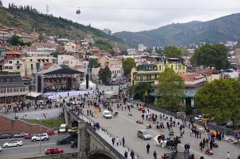 Tbilisi, Georgia. Photo credit: Jake Smith