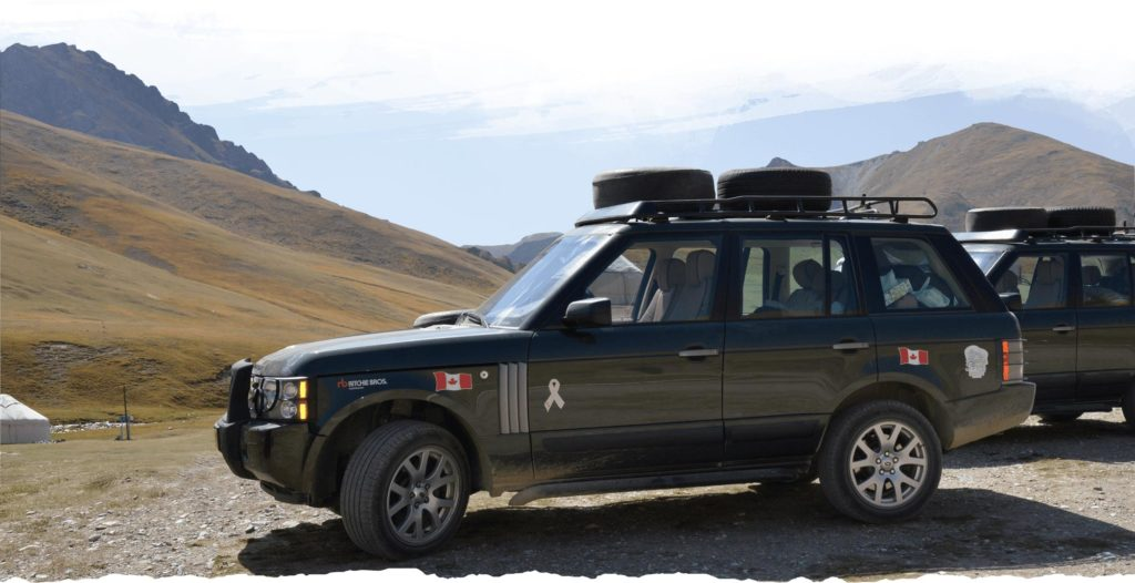 Epic overland expedition by Land Rover. Photo credit: Ann Schneider