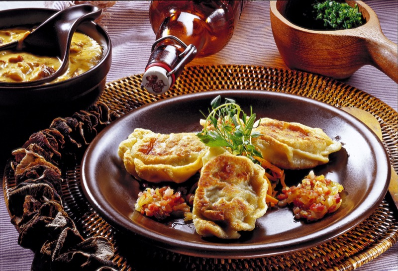 Delicious pierogis. Photo credit: Poland National Tourist Board