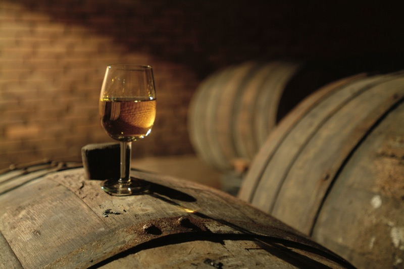 Serbian wines are typically aged in oak barrels to impart tannic or vanilla flavors to the finished product. Photo credit: Ia Tabagari