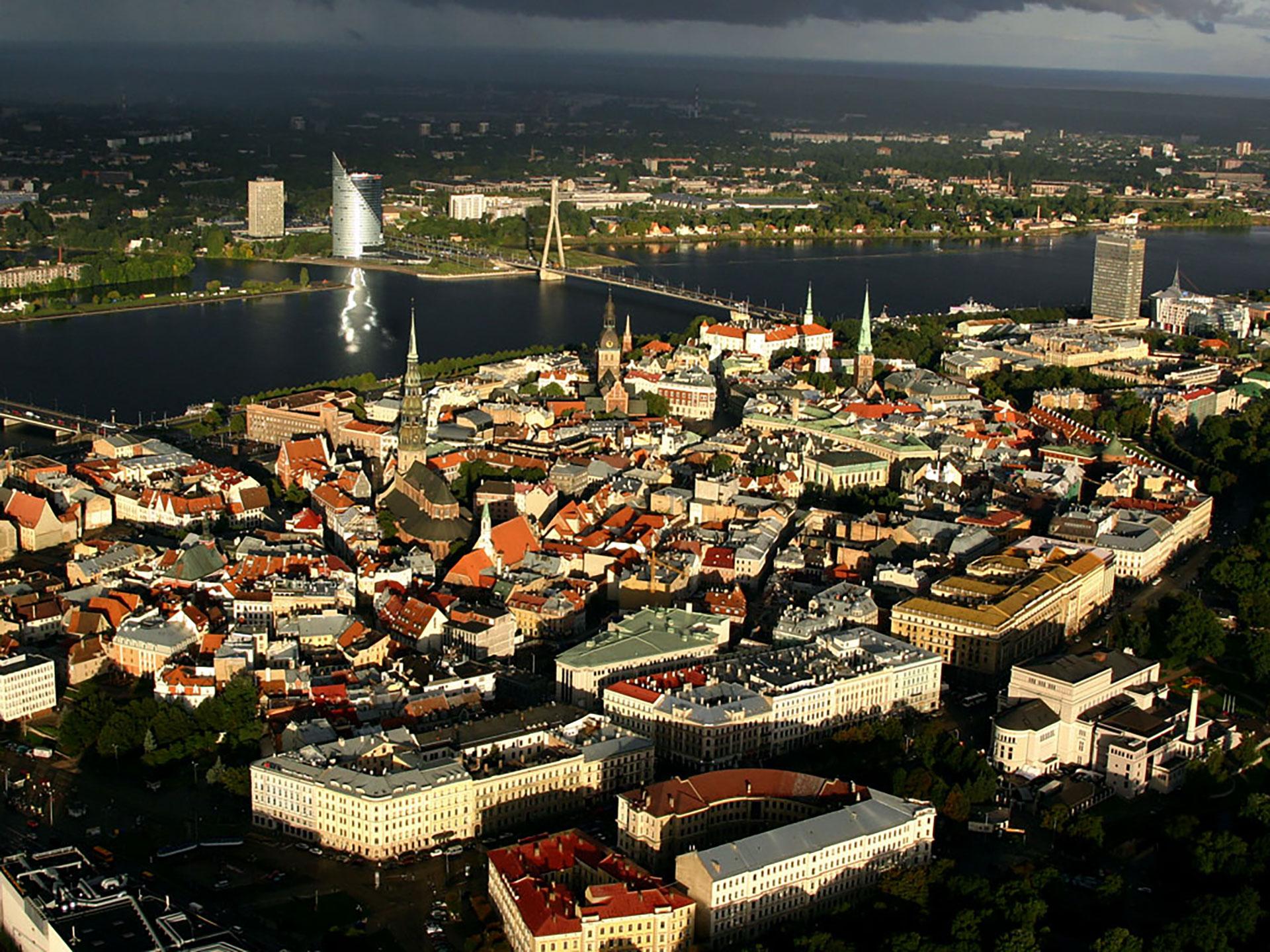 Old Town and Daugava River in Riga, Latvia. Photo credit: Vita Balckare