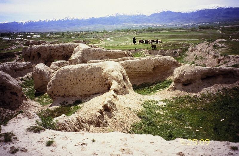 Sarazm, Tajikistan's first UNESCO site.  Photo credit: Michel Behar