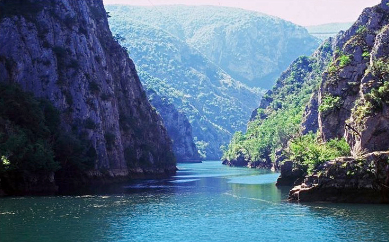 You don't have to venture far off the beaten path to enjoy Macedonia's magnificent outdoors: deep, rugged Matka Canyon is less than an hour's drive from Skopje. Photo credit: Bruno Hladnik
