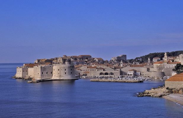 For more than 1,000 years, Dubrovnik's prosperity has been anchored in maritime trade. Photo credit: Laneya McCullough