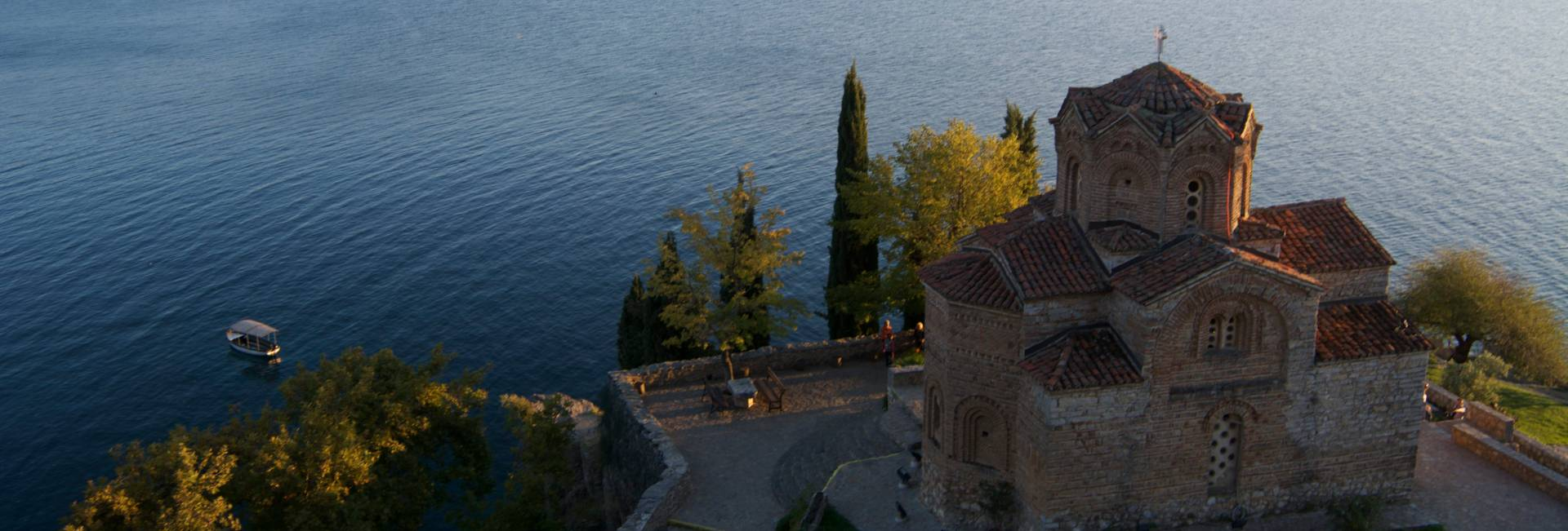 Lake Ohrid in North Macedonia. Photo credit: Peter Guttman