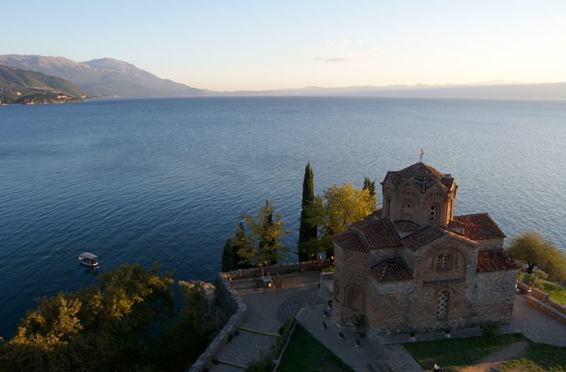Lake Ohrid, Macedonia. Photo credit: Peter Guttman