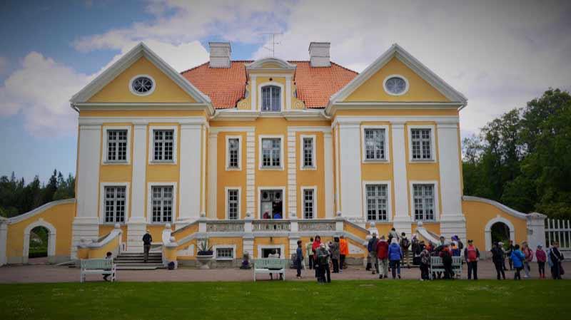 Palmse Manor House in Lahemaa, Estonia.  Photo credit: Martin Klimenta