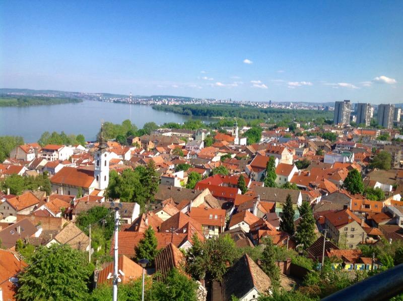 A birds's-eye view of Belgrade, the capital of Serbia. Photo credit: Dragan Bosnic, Branko Jovanovic, Srdjan Veljovic, NTOS archive.
