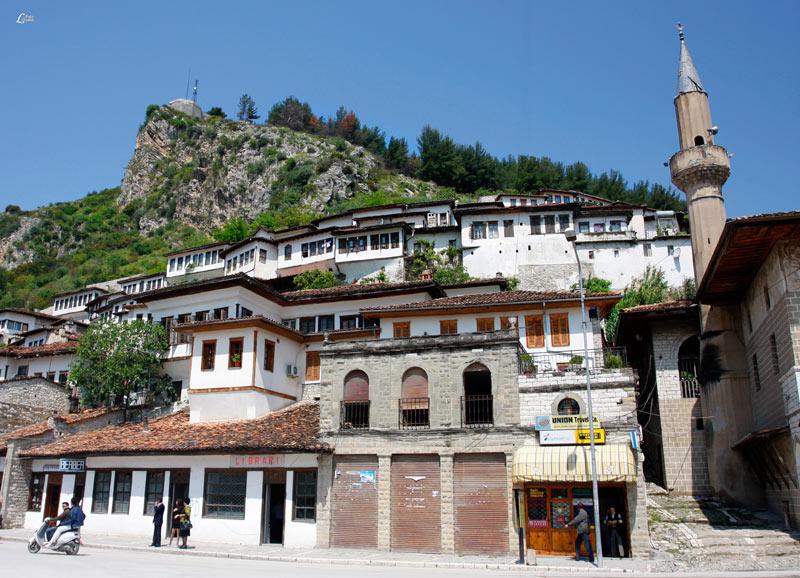 The Gorica Quarter of Berat, Albania