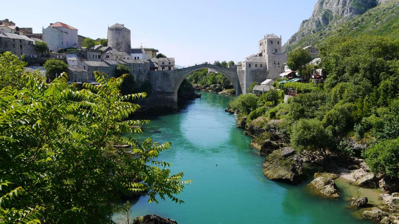 Mostar's Stari Most (Old Bridge). Photo credit: Martin Klimenta