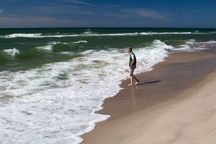 Wade in the water on Lithuania's Curonian Spit. Photo credit: Kestutis Ambrozaitis