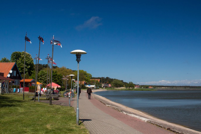 Beachfront promenade in Nida, at the end of Lithuania's Curonian Spit. Photo credit: Kestutis Ambrozaitis
