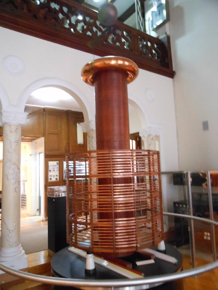 Belgrade's Nikola Tesla Museum features a working replica of the Tesla coil, one of Tesla's signature inventions. Photo credit: Kevin Testa