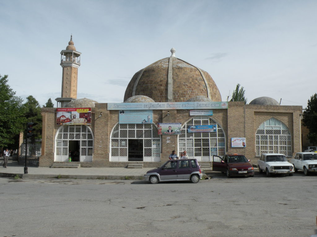 The modest Olim Dodkhokh Mosque. Photo credit: Jake Smith
