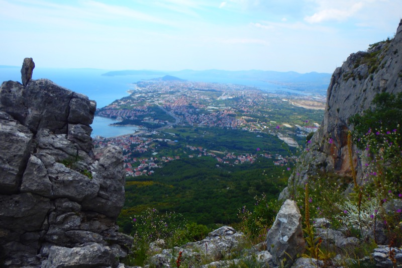 The trails leading up to Marjan Hill reward hikers with stellar panoramic views of Split and its environs. Photo credit: Iris Adventures