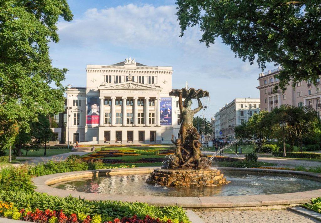 Latvian National Opera House in Riga. photo credit: Kestutis Ambrozaitas