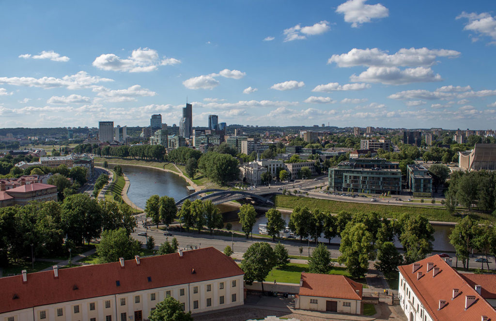 Vilnius, UNESCO-listed capital of Lithuania. Photo credit: Kestutis Ambrozaitis