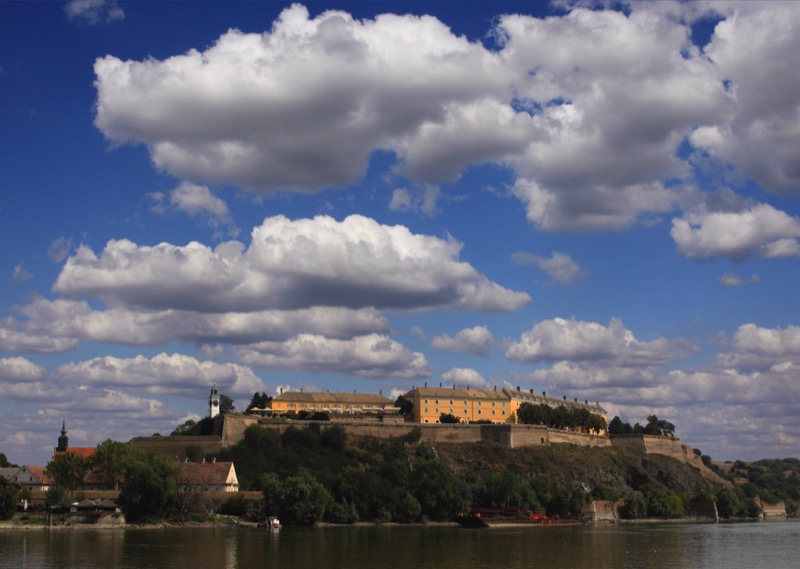 A view of Petrovaradin Fortress from the Danube. Photo credit: Dragan Bosnic, Branko Jovanovic, Srdjan Veljovic, NTOS archive