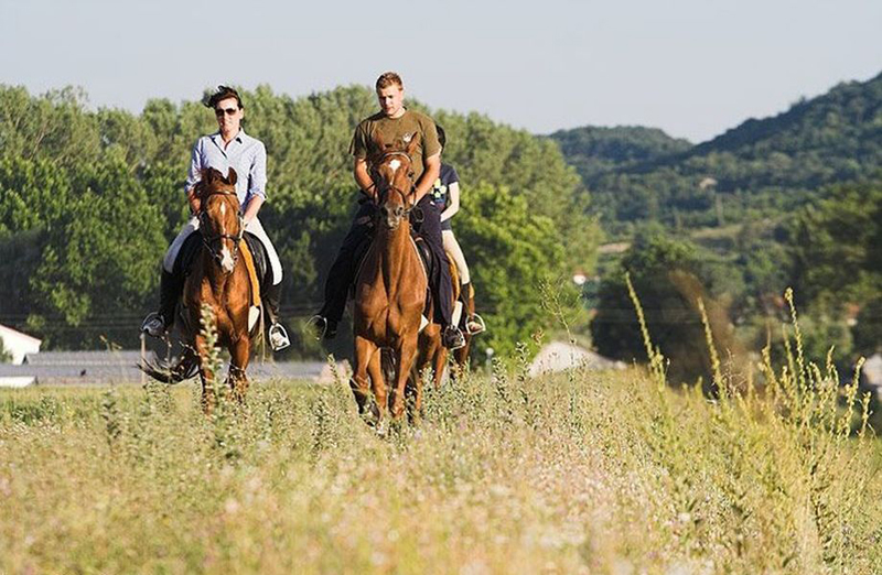 Horseback riding is a relaxing way to explore the natural beauty of Split's countryside