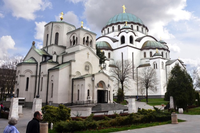 The Church of Sveti Sava has been a work in progress since 1935. Photo credit: Paul Whitmore