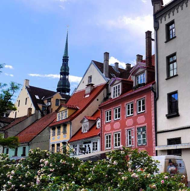 Old Town Riga, Latvia. Photo credit: Martin Klimenta