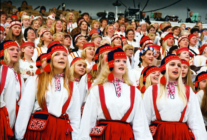 Estonia's Singing Revolution began here, at Tallinn's now-iconic Song Festival Grounds. Photo credit: Jaak Nilson
