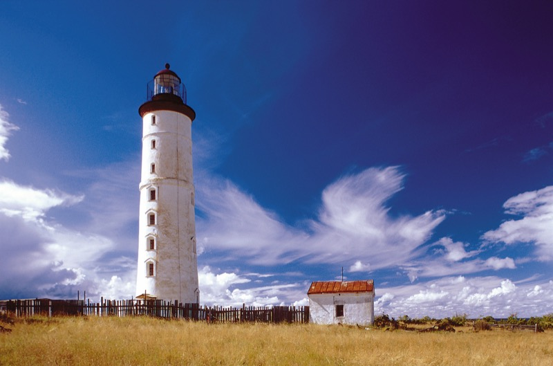 Lighthouse along the Baltic Sea in western Estonia. Photo credit: VisitEstonia.com