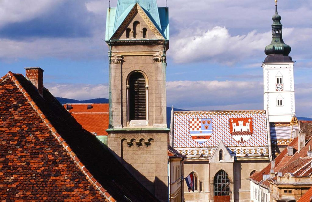 St.Mark's Church, Zagreb, Croatia. Photo credit: Peter Guttman