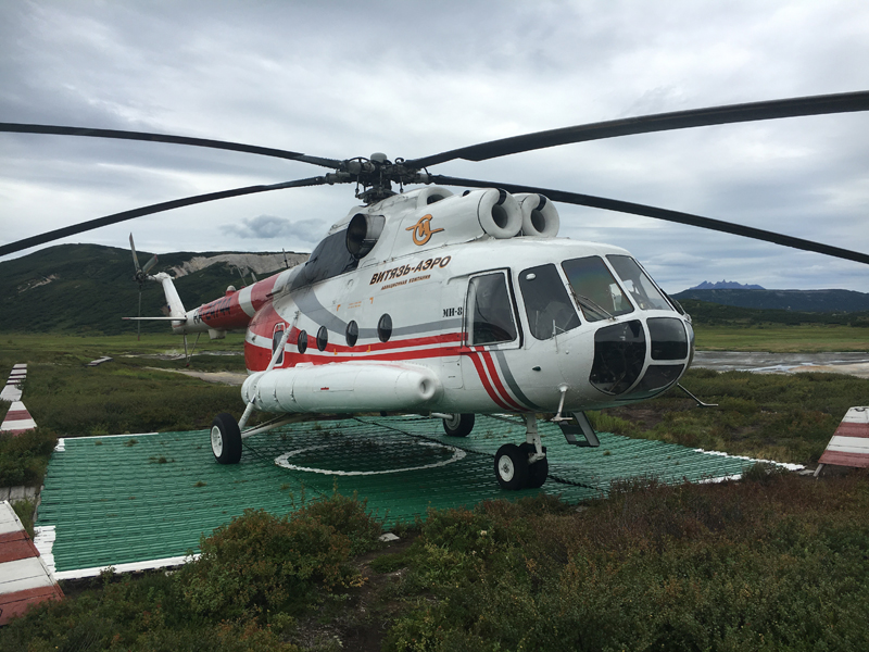 Mil Mi-8 Hip Helicopter. Photo credit: Jake Smith
