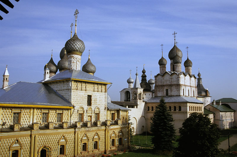 The kremlin in Rostov Veliky. Photo credit: Renee Van Drent
