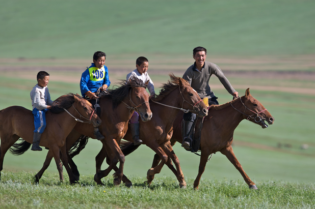 Horsemanship is a Mongolian tradition handed down from generation to generation. Photo credit: Helge Pedersen