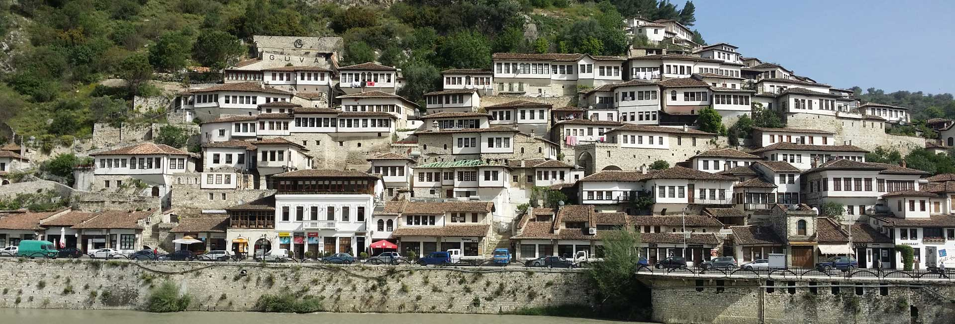 The whitewashed architecture of UNESCO-listed Berat in Albania. Photo credit: Mike Belton & Karen McGrath