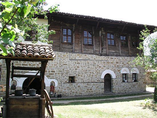 Konstantsaliev's house in Arbanassi, right outside Veliko Tarnovo. Photo credit: Alexander Tour