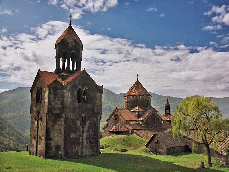 The monasteries of Haghbat and Sanahin in Armenia are UNESCO World Heritage Sites. Photo credit: Martin Klimenta