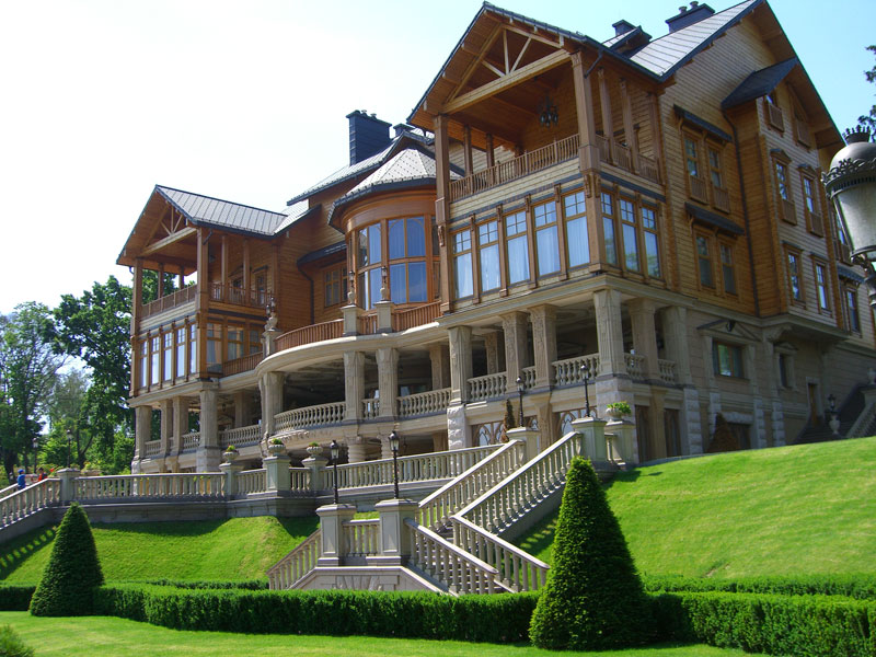 Ousted president Yanukovych's former estate outside Kiev, Ukraine. Photo credit: Luba Rudenko