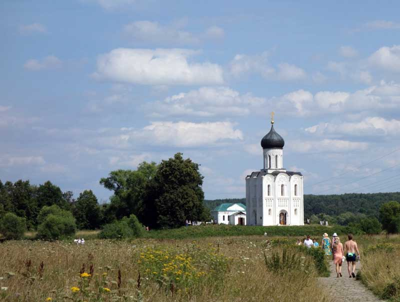 Church of the Intercession on the Nerl in Bogolubovo. Photo credit: John Seckel