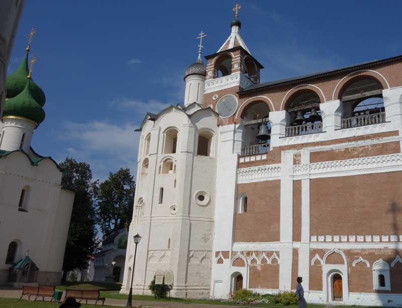 The UNESCO-listed Savior Monastery of St. Euthymius in Suzdal. Photo credit: John Seckel