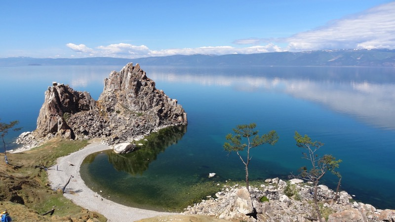A lake of superlatives: Baikal is the oldest and deepest freshwater lake in the world. Photo credit: Vladimir Kvashnin