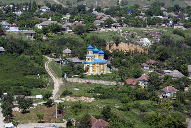 VIllage church in Moldova. Photo credit: Joanna Millick