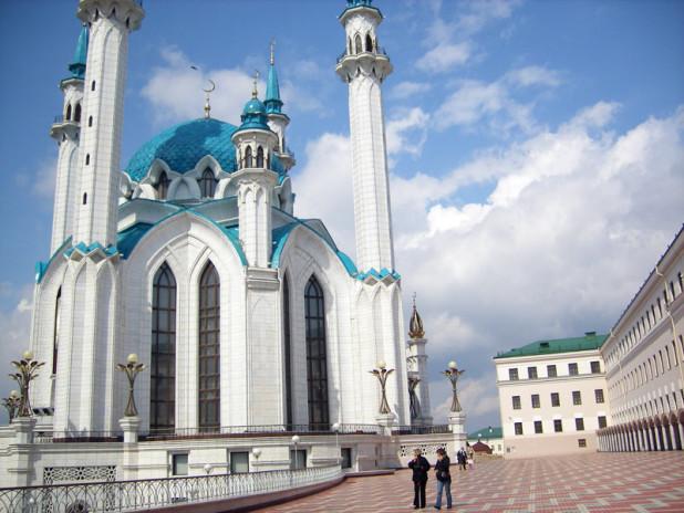 Qol Sharif Mosque in Kazan, Russia. Photo credit: Douglas Grimes