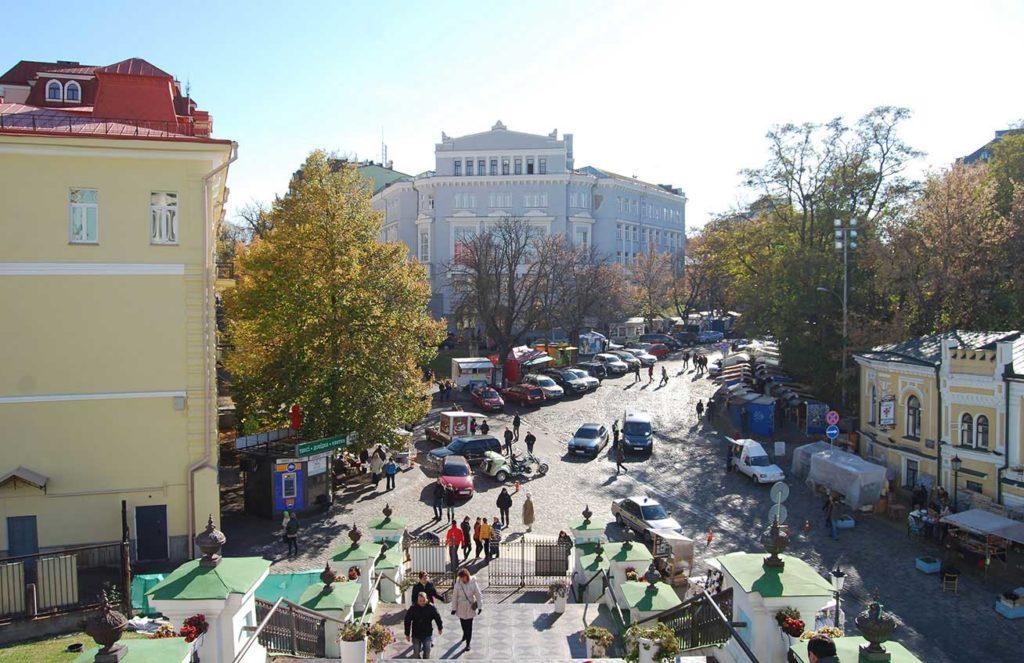 Sunny Kiev, Ukraine. Photo credit: Jered Gorman