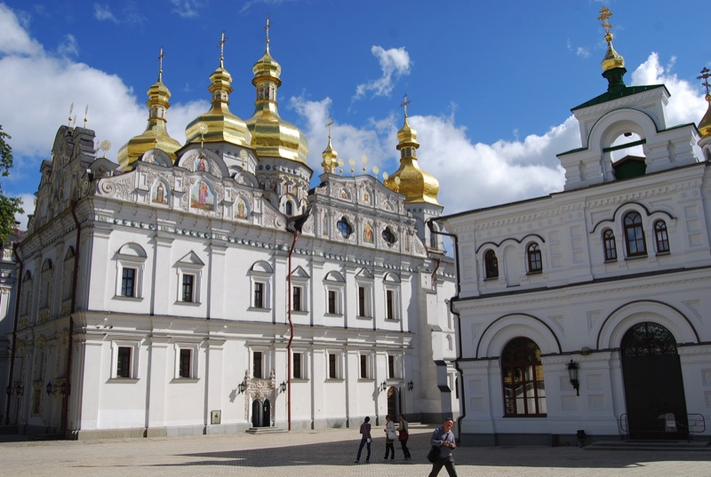 The Kievo-Pecherskaya Lavra, also known as the Monastery of the Caves. Photo credit: Douglas Grimes