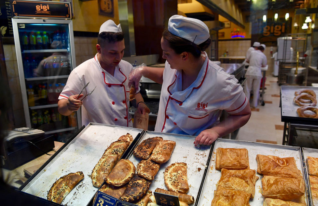 Bakery in Romania. Photo credit: Phil Kidd