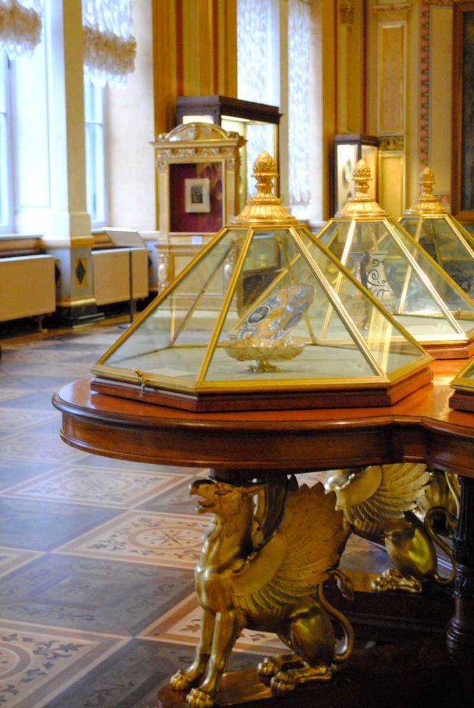 The Majolica Room (Renaissance art) in the Hermitage. Photo credit: Jenelle Birnbaum