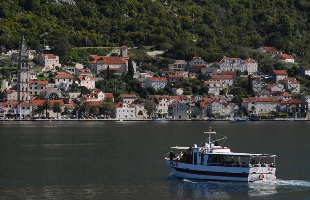 Old town of Perast in Montenegro. Photo credit: Peter Guttman