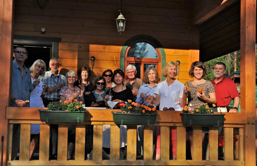 Visiting a dacha in the Russian countryside. Photo credit: Bruce Jones